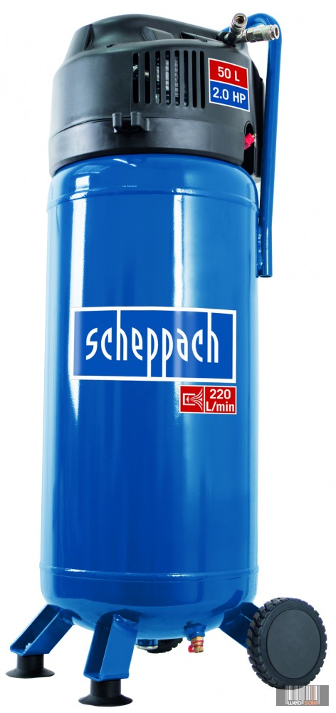 Scheppach HC 51 V olajmentes vertikális kompresszor