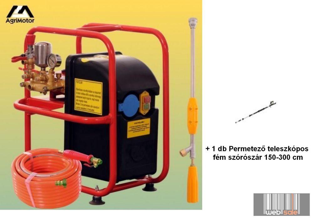 Agrimotor PSE 307 Telepíthető permetező elektromotorral DUPLA szett, (Permetező Webáruház)