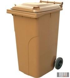 Kültéri, bio hulladéktároló edény, kuka szellozo nyílásokkal, rostával 120 l /240 l 0004_5-5Bio-R