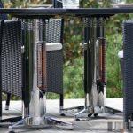 Kültéri Mensa infravörös hősugárzó, radiátor, két fűtő elem összeépítve Quadrum 400W 2400_QU