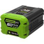 GreenWorks 2918307 G60B2 60 V-os LI-Ion akkumulátor 2 Ah