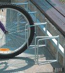 Kerékpárállvány, 4 db kerékpár tárolására 4042