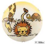 Rábalux 4559 Leon oroszlán mintás fali lámpa