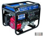 Scheppach SG 3500 3 500 w-os vázszerkezetes áramfejlesztő avr szabályozással és Honda motorral