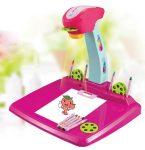 Rajzoló vetítőgép, rózsaszín