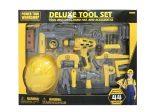 Deluxe 44 db-os szerszám készlet, sárga/szürke