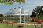 Palram Multiline 6' x 10' Ezüst színű üvegház 310x185x209 cm