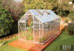 Palram Multiline 6' x 12' Ezüst színű üvegház 370x185x209 cm