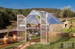 Palram Essence 8'x 12' Ezüst színű üvegház 366x242,5x231 cm