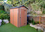 Palram SkyLight 4' x 6' Barna színű kerti ház 177,5x122,5x203,5 cm
