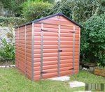 Palram SkyLight 6' x 8' Barna színű kerti ház 230,5x185,3x217 cm