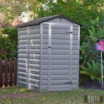 Palram SkyLight 4' x 6' Szürke színű kerti ház 177,5x122,5x203,5 cm