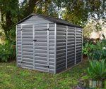 Palram SkyLight 6' x 8' Szürke színű kerti ház 230,5x185,3x217 cm