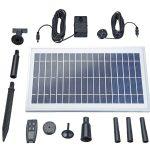 Pontec PondoSolar 600 Control Solar szökőkút készlet