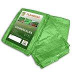 Ponyva, zöld 4x6 m, 90gr/nm (A névleges mérettol a valós méreteltérés akár 5%