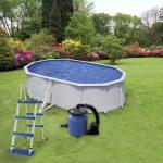 WET medence szett (létra + vízforgató)