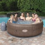 Bestway HMC 016 Lay-Z-SPA Pool ST. MORITZ felfújható masszázsmedence, 216 x 71 cm, 1190 liter