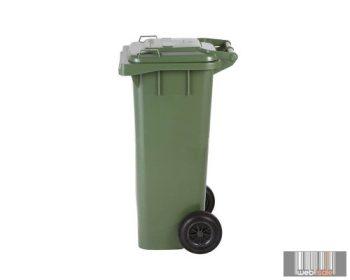 külső hulladéktároló, szemetes kuka, több színben, 80 literes, műanyag