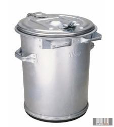 külső, fém hulladéktároló, kuka 70 l 1002