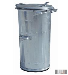 külső fém hulladéktároló, kuka 110L - 1008
