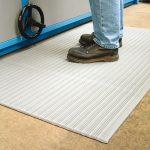Anti-fatigue ribbed padlórács (szürke) 3170