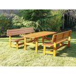 Ülőgarnitúra fából 3798
