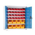Univerzális szekrény műanyag dobozokkal 4833