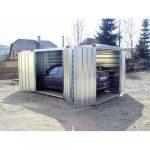 5 m mobil garázs 4881