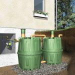 7701 Készlet 2 db vízgyűjtő tartályhoz ( 3200 l )