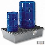 GK4237 220 l üvegszövetbetétes gyűjtőkád