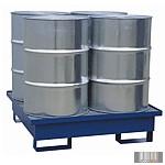 GK6077 Fém gyűjtőkád 4 db 200 l hordóra ráccsal