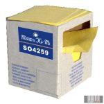 SO4259 TEXTIL FOLYADÉKFELSZÍVÓ VEGYI TISZTÍTÁSHOZ (sárga, 200 db, könnyű)