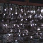 Home KSF 100/WH LED-es sorolható jégcsap fényfüggöny