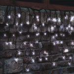 Home KSF 200/WH LED-es sorolható jégcsap fényfüggöny