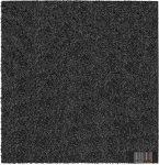 ReFlex Esésvédő Gumilap (Vastagság: 3 cm, Méret: 40X40 cm, fekete)