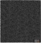 ReFlex Esésvédő Gumilap (Vastagság: 5 cm, Méret: 50X50 cm, fekete)