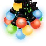 Home LPL 10M Party fényfüzér, sorolható, LED-es