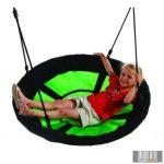 Fészekhinta Lakossági 'Swibee' fekete/zöld, 98cm átmérőjű