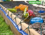 Macskaháló - Jungle Gym Sandpit Cover Net