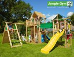 Kerti játszótér - Jungle Gym Paradise 2 játszótornyok