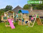 Kerti játszótér - Jungle Gym Paradise 5 játszótornyok