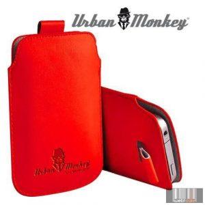 "Easypix Urban Monkey 53201 4""-4.3"" Pull Pouch, okostelefon tok (piros)"