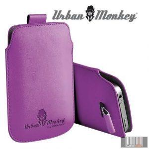 "Easypix Urban Monkey 53208 4""-4.3"" Pull Pouch, okostelefon tok (lila)"
