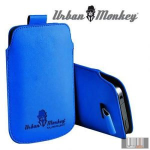 """Easypix Urban Monkey 53213 5"""" Pull Pouch, okostelefon tok (kék)"""