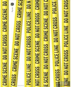 LAVATELLI 732 IDESIGN CRIME falmatrica rendőrségi helyszínelés