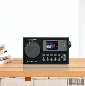 Sangean WFR-27C Internet rádió / DAB+ / FM-RDS rádió / Hálózati media lejátszó