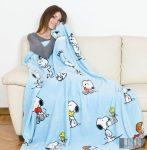 KANGURU Plaid Snoopy (1123) prémium minőségű pléd
