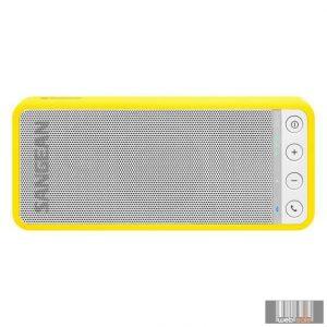 Sangean BLUETAB BTS-101 Y hordozható sztereó Bluetooth hangszóró (sárga)