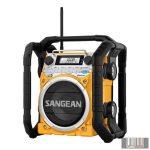 Sangean U-4 BT YELLOW FM-RDS / AM / Bluetooth / Aux-in / strapabíró digitális rádió