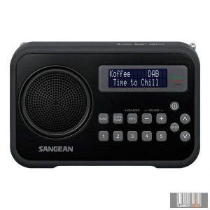 Sangean DPR-67 BLACK DAB+ / FM-RDS Digitális rádióvevő (fekete)
